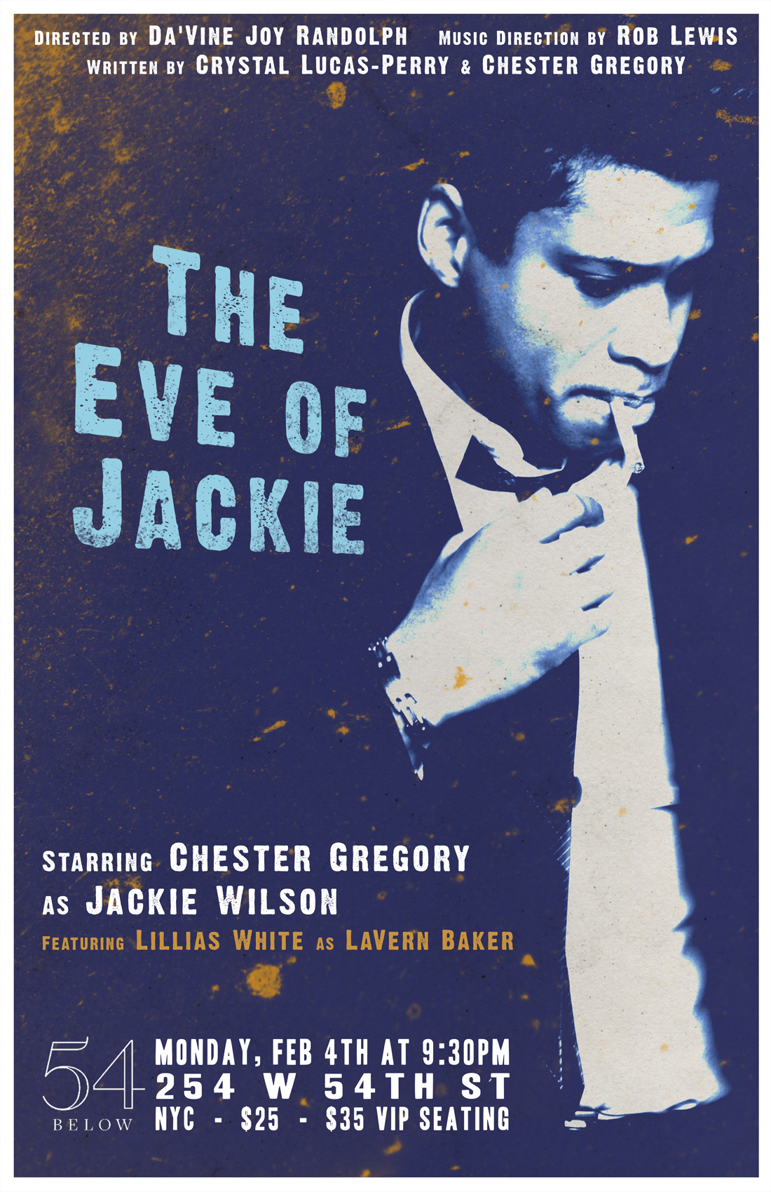 Chester Gregory: The Eve of Jackie with Special Guest Lillias White