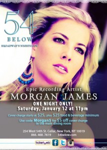 Morgan James Flyer