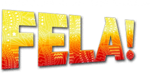 yellow and orange fela logo
