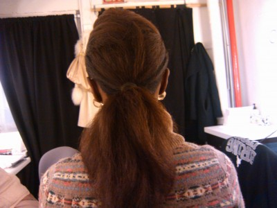 Saycon's Hair backview