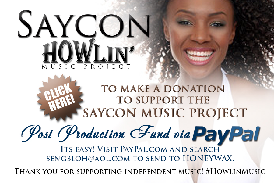 SayconIndiego-Production Fundraiser