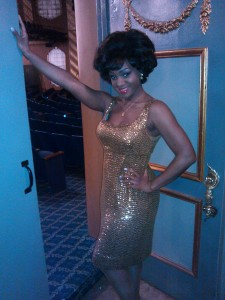 Saycon Sengbloh performs as Martha Reeves on the Tony Awards