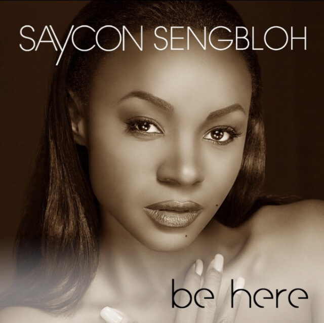 Be Here song cover. saycon with straight hair smoothed back